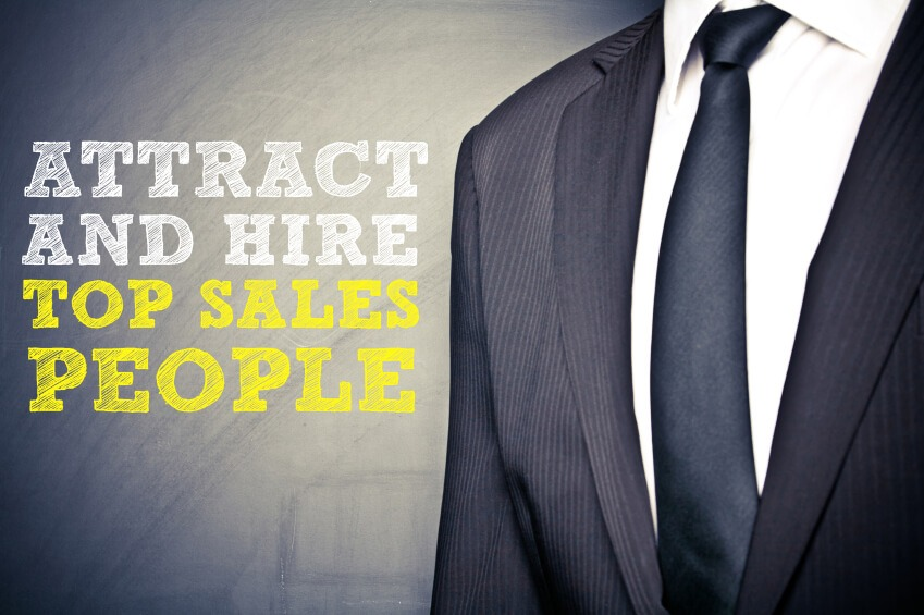 attract and hire top sales people