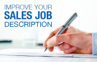 improve your sales job description