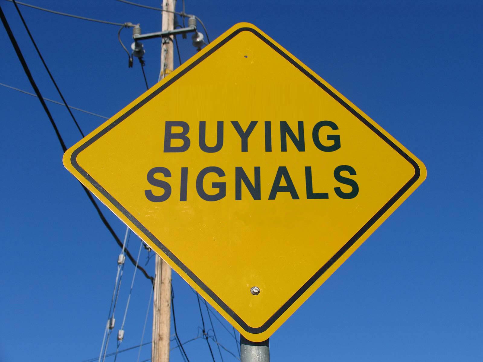 nonverbal buying signals