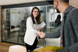sales recruiter ending interview