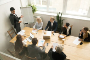 manage a sales team